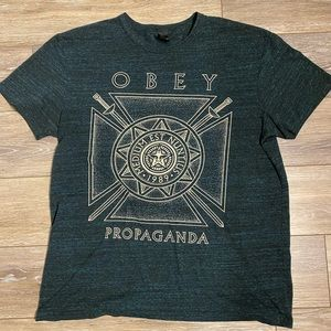 Men's Obey Propaganda Graphic T-Shirt Sz XL